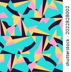 bright abstract pattern of... | Shutterstock .eps vector #2022828002