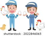 men and women engaged in...   Shutterstock .eps vector #2022846065