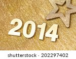 new 2014 year | Shutterstock . vector #202297402