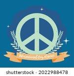 international day of peace... | Shutterstock .eps vector #2022988478