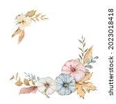 a watercolor postcard for... | Shutterstock . vector #2023018418