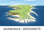 Surface Geodynamics. Relief...