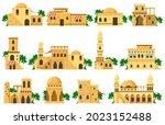 arabic oriental traditional mud ...   Shutterstock .eps vector #2023152488