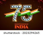 illustration of tricolor banner ... | Shutterstock .eps vector #2023294265