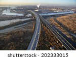 Aerial View Of New Jersey...