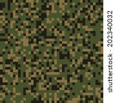 Seamless Pixel Forest Camo...
