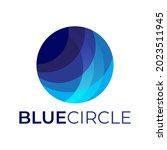 logo design with circle concept ... | Shutterstock .eps vector #2023511945