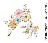 a watercolor postcard for... | Shutterstock . vector #2023596788