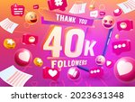 thank you followers peoples ...   Shutterstock .eps vector #2023631348