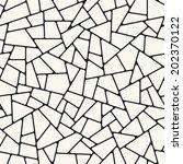 seamless pattern. irregular... | Shutterstock .eps vector #202370122