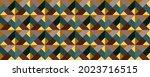 vector seamless 3d pattern.... | Shutterstock .eps vector #2023716515