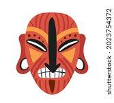 Tribal Mask Idol  Aborigine...