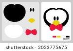 penguin head pattern for kids...   Shutterstock .eps vector #2023775675