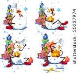 christmas story | Shutterstock .eps vector #20237974