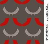 seamless pattern with ancient... | Shutterstock .eps vector #2023875668