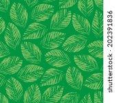 seamless texture of green...   Shutterstock .eps vector #202391836