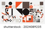abstract vector shapes... | Shutterstock .eps vector #2024089235