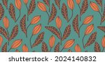 artistic seamless pattern with... | Shutterstock .eps vector #2024140832