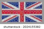 mosaic guide united kingdom... | Shutterstock .eps vector #2024155382