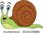 cute snail cartoon animal...   Shutterstock .eps vector #2024228888