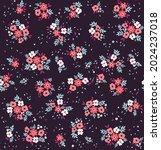 vector seamless pattern. pretty ... | Shutterstock .eps vector #2024237018