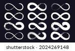 infinity symbols or eternity...   Shutterstock .eps vector #2024269148