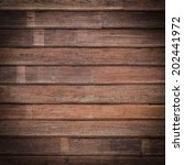 brown wood plank texture... | Shutterstock . vector #202441972