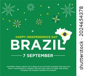 happy brazil independence day... | Shutterstock .eps vector #2024654378