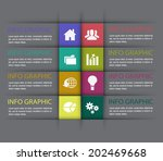 modern design template   can be ... | Shutterstock .eps vector #202469668