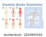 crossword puzzle for children.... | Shutterstock .eps vector #2024843102