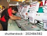 bangkok   june 28  industrial... | Shutterstock . vector #202486582