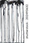 drips of paint | Shutterstock .eps vector #202493632