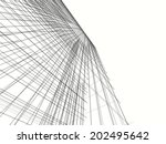 abstract building | Shutterstock . vector #202495642