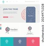 vector branding with a website...