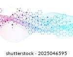 modern futuristic background of ... | Shutterstock .eps vector #2025046595