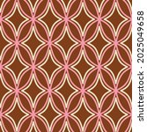 70s retro seamless pattern in... | Shutterstock .eps vector #2025049658