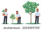 investment concept. businessman ... | Shutterstock .eps vector #2025095705