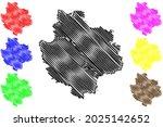 deggendorf district  federal... | Shutterstock .eps vector #2025142652