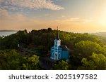 Blue Chapel In Balatonboglar...