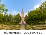 Red Chapel In Balatonboglar...