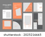 social media template blog...   Shutterstock .eps vector #2025216665