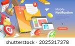 3d vector conceptual... | Shutterstock .eps vector #2025317378
