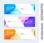 vector abstract graphic design...   Shutterstock .eps vector #2025460742