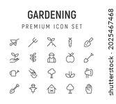 premium pack of gardening line...