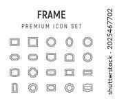 premium pack of frame line...