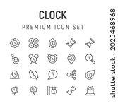 premium pack of clock line...