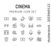 premium pack of cinema line...