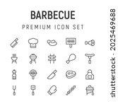 premium pack of barbecue line...