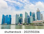 singapore   june 22  urban... | Shutterstock . vector #202550206