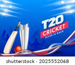 t20 cricket fever is back...   Shutterstock .eps vector #2025552068